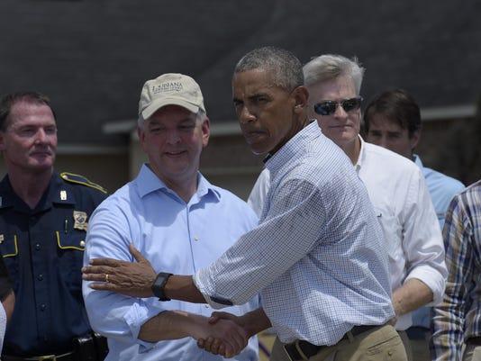 Barack Obama,John Bel Edwards