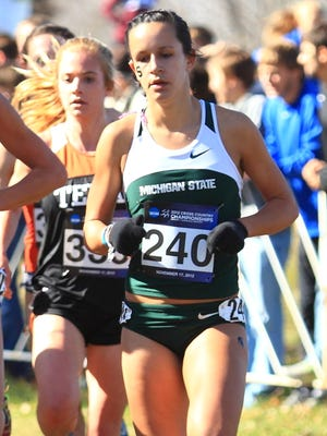 Former Livonia Churchill standout Sara Kroll has had an exceptional cross country and track-and-field career at MSU.