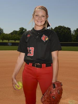 Adamsville's Gabby Morris helped lead Adamsville to the top four in Class A.