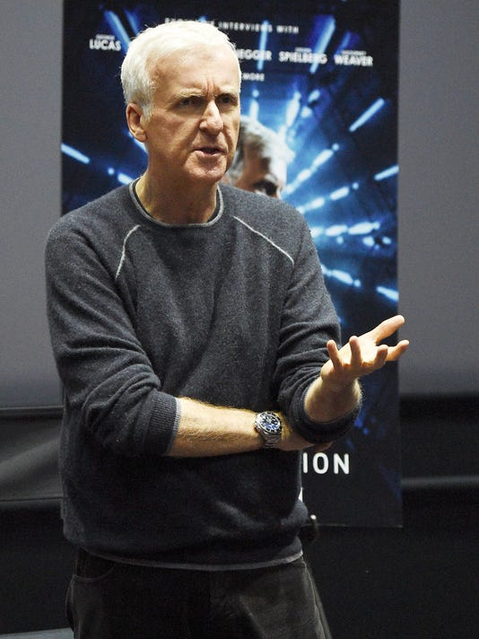 AMC James Cameron's Story of Science Fiction Launch - Visionaries