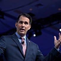 Wisconsin Gov. Scott Walker cautious on Trump, Medicaid cuts