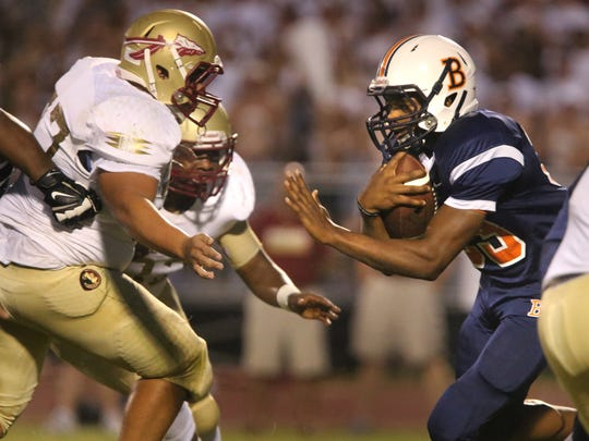 Master Teague is expected to be the go-to back for Blackman this season.