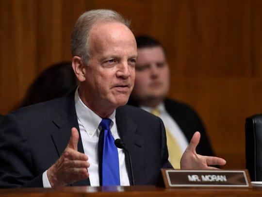 Sen. Jerry Moran, R-Kan., is a member of the Senate