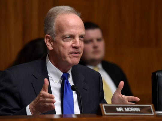 Sen. Jerry Moran, R-Kan., is a member of the Senate