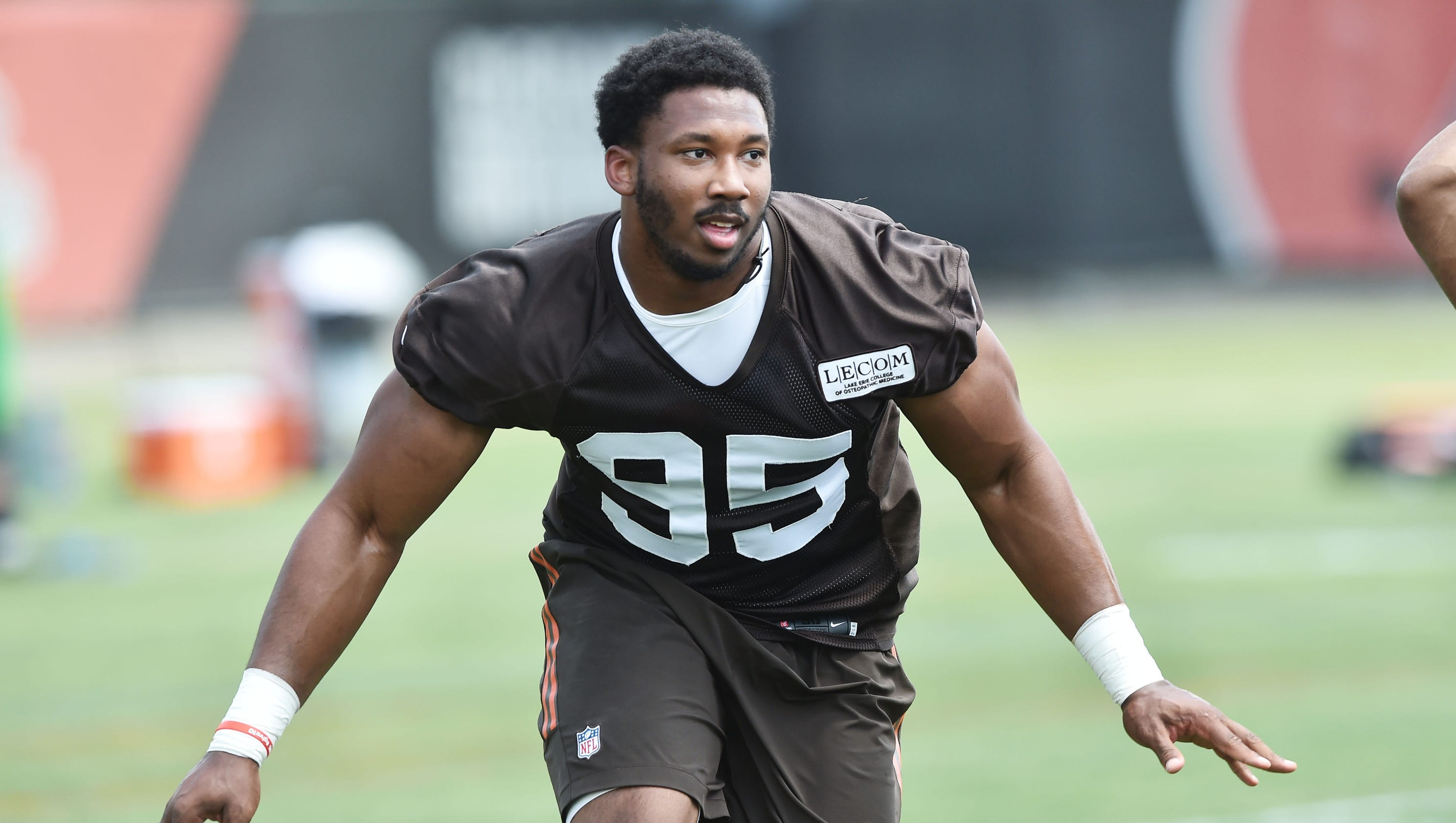 Image result for myles garrett browns 95