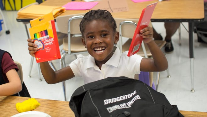 United Way's Stuff the Bus campaign delivers school supplies to needy students in Nashville.