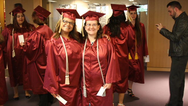 Mid-State Technical College held the commencement ceremony for its Stevens Point campus on May 12, 2016, in Dreyfus University Center at the University of Wisconsin-Stevens Point.