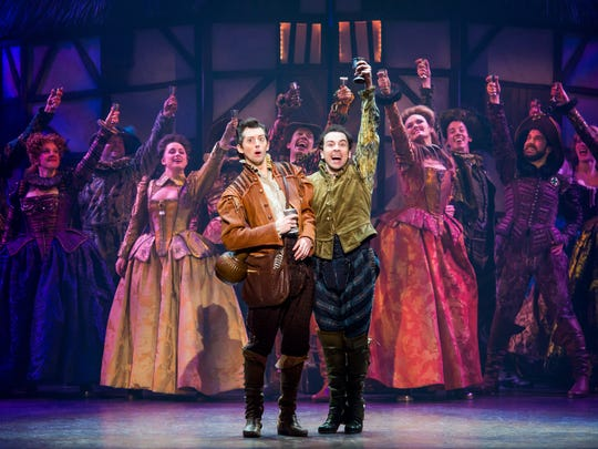 """Something Rotten!' is an award-winning mashup of musicals and Shakespeare."