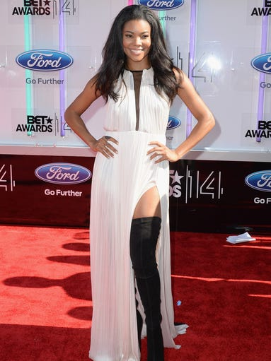 Gabrielle Union attends the BET AWARDS '14 at Nokia Theatre L.A. LIVE on June 29, 2014 in Los Angeles, California.