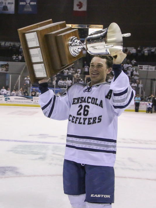 NEW ice flyers trophy