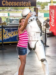 Take a selfie with your favorite Star Wars characters