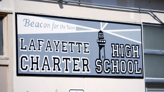 The former Lafayette Charter High School was open from 1998 to 2012.