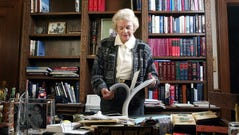 Supreme Court Justice Sandra Day O'Connor in her chambers
