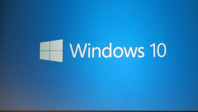 The Windows 10 logo.
