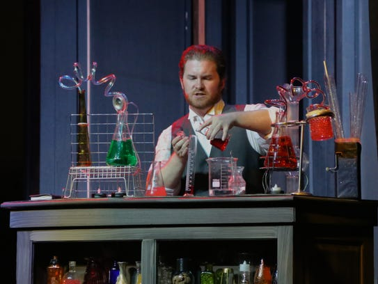 """Taylor Williams as Dr. Jekyll in The Stage Door's """"Jekyll"""