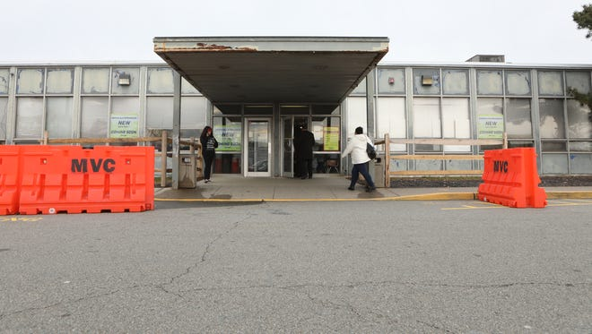 There were no lines out the door at the Motor Vehicle Commission location in Wayne on Tuesday afternoon.