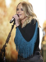 Country singer-songwriter Miranda Lambert performed