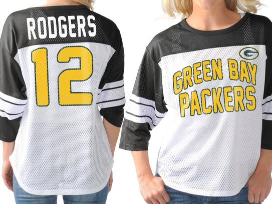 It's not quite the jersey Aaron Rodgers wears, but