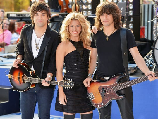 Sibling trio The Band Perry will perform at Bankers Life Fieldhouse on Feb. 14.