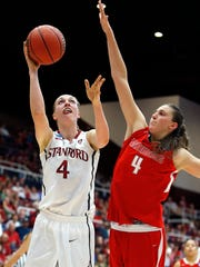 Stanford forward Taylor Greenfield is a native of Huxley,