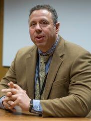 Joseph Maggio, the director of water quality at Brick