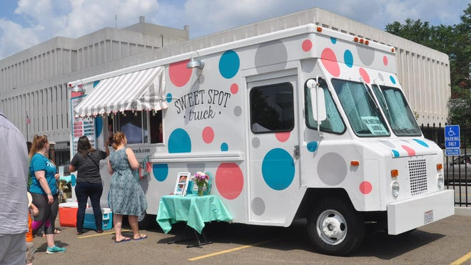 The Sweet Spot Truck parked at one of the early 720 Markets. It's owned and operated by Sara Corona and Stacey Cooper from Louisville.