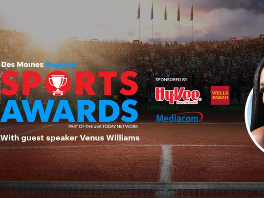 The All-Iowa Sports Awards will be held on June 23 in Des Moines.