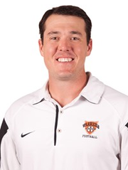 Jordan Neal, former offensive coordinator at Hendrix College.