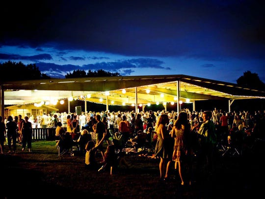 Family-friendly big band dances take place in the event shelter at the back of Centennial Park from 7:30-10 p.m. Saturdays.