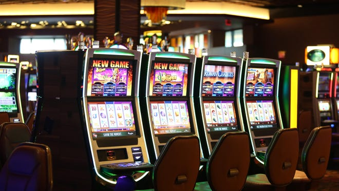 The slot area at Belterra Park Gaming & Entertainment racino in Anderson Township. The Enquirer/Cara Owsley