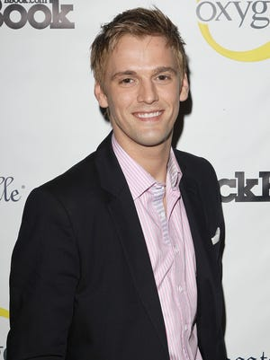 Aaron Carter at Fashion' s Night Out in 2012.