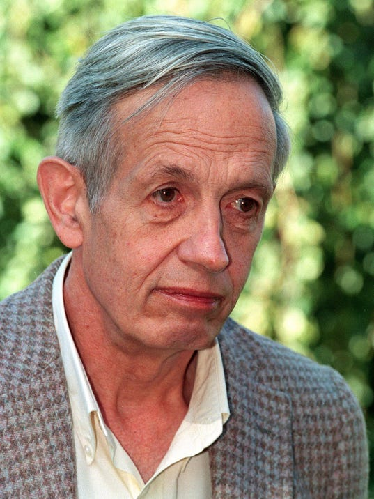 a beautiful mind with john nash Review of a beautiful mind by al siebert, phd the story of nobel prize winner john forbes nash, jr proves that psychiatrists are wrong about schizophrenia being a brain disease like alzheimers and parkinson's.