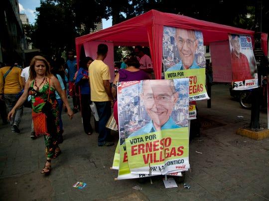 AP Venezuela Elections