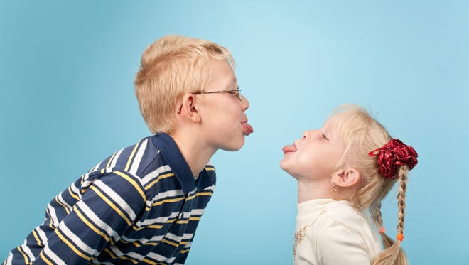 Quarrels between siblings are natural and can be healthy. Siblings are actually practicing conflict resolution in a safe environment when they argue with one another in the presence of mom and dad.