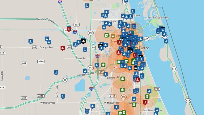 Database provides information on sex offenders throughout the Treasure Coast.