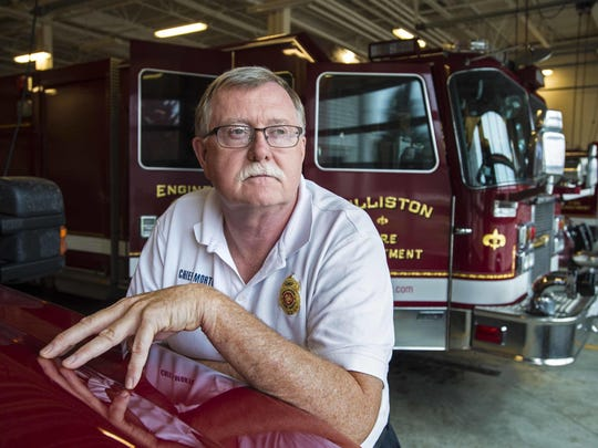 Williston Fire Chief Ken Morton.