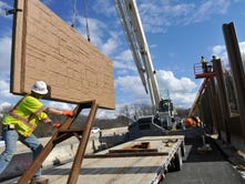 Sound barriers going up at I-83 Mount Rose project