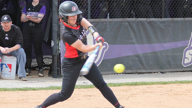 Former Fairfield Union standout Michaela Criner is having a standout sophomore season for the University of Rio Grande softball team. She leads the nation (NAIA) with a .552 batting average. She has 74 hits in 37 games this season.