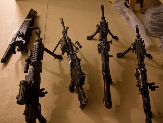 Military firearms