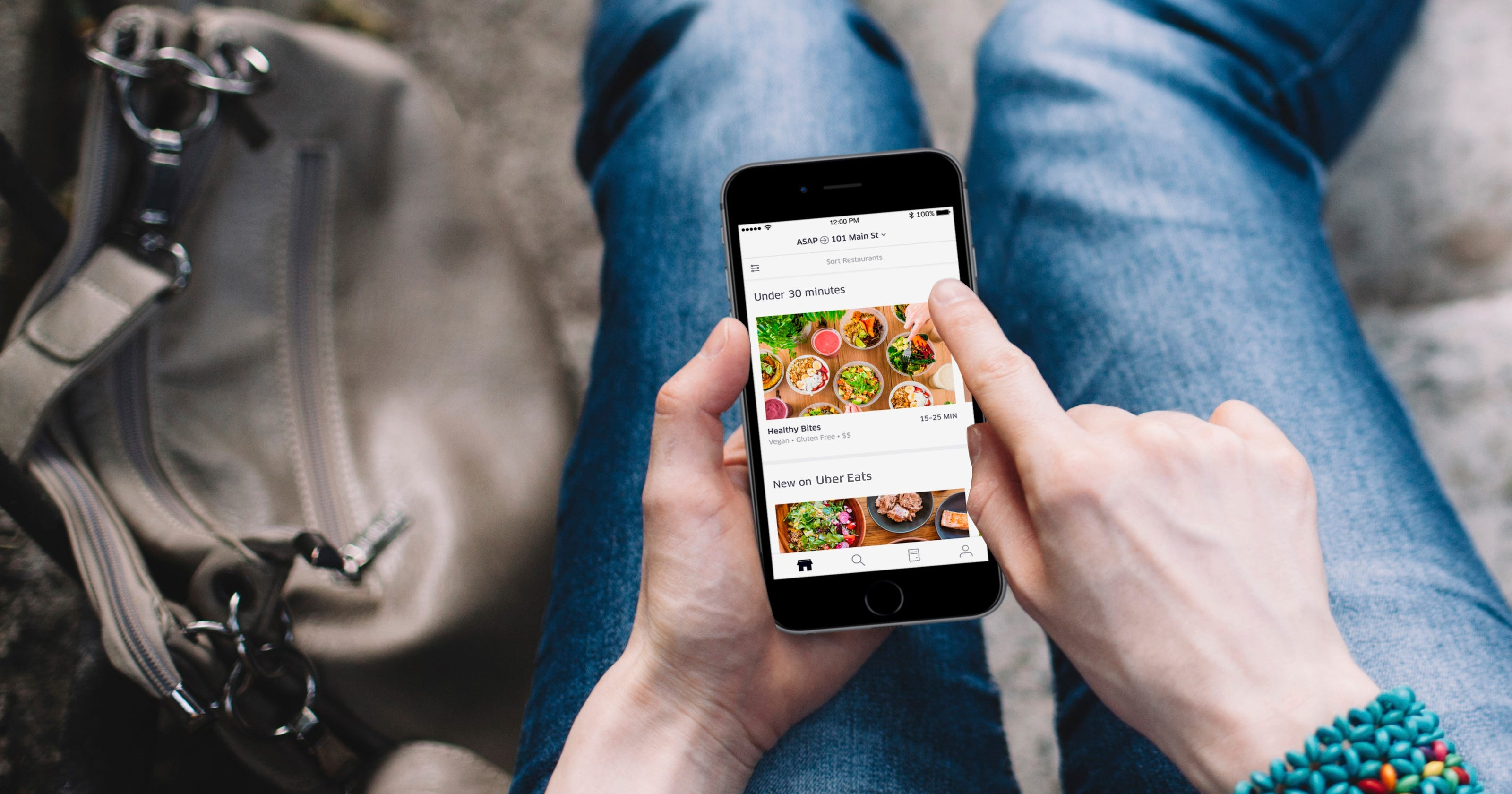 Uber Eats launches Thursday with free deliveries