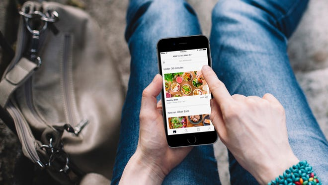 Uber Eats will launch delivery service in Greenville May 8, 2018.