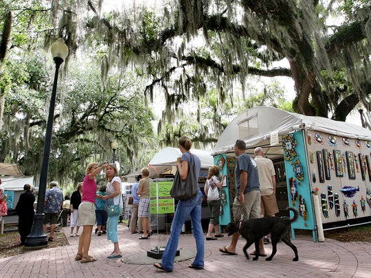 Tallahassee chain of parks  during its Annual Chain