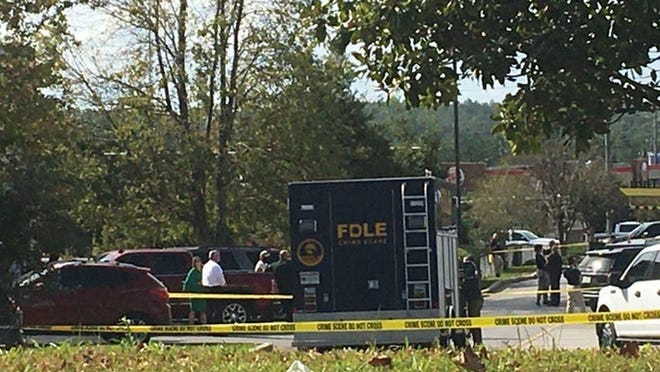 Law officers in Florida shot and killed a kidnapping suspect from Massachusetts on Thursday morning at a McDonald's restaurant on Ferdon Boulevard near Walmart, according to authorities.