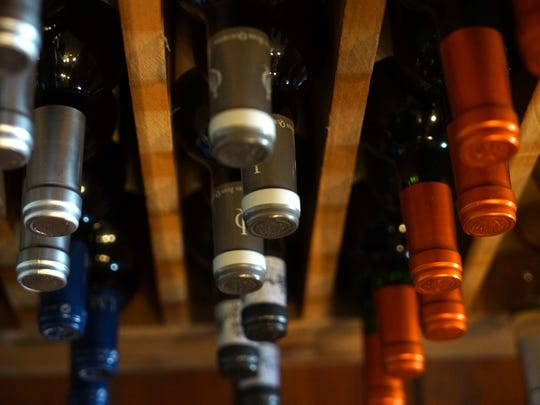 Wine for sale at Linda Collier's wine business, Collier's Centreville Fine Wine, Spirits & Beer.