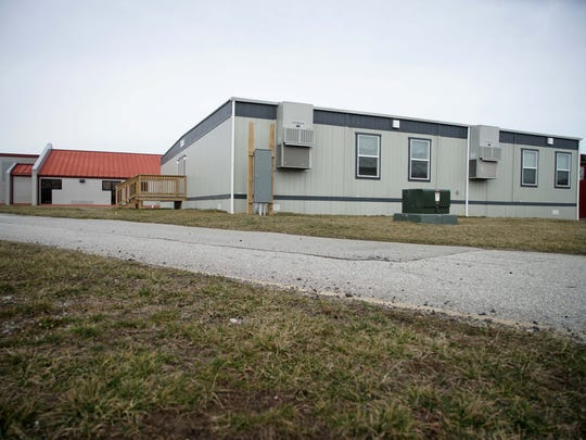Cedar Lane Elementary School has four modular classrooms and will add more for students to use next fall.