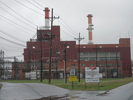 The McKee Run Generating Station in Dover.