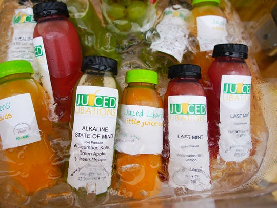Latisha Bloise, owner of Juiced Libations on N. Market Street, offers fresh squeezed juices for promote a healthier lifestyle.