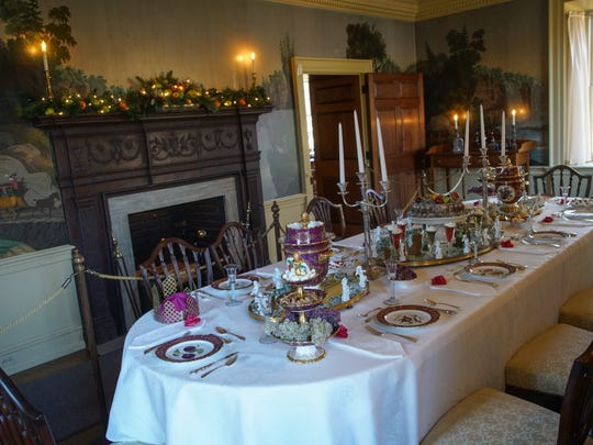 Hagley Museum is dressed for holiday tours.
