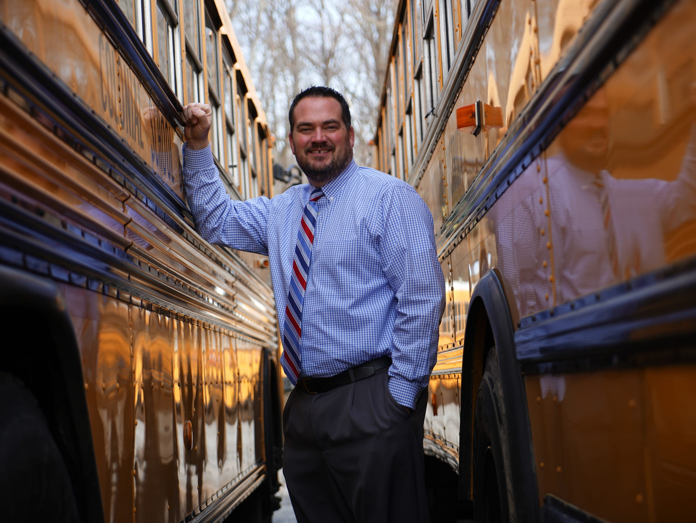 Colonial School District Transportation Manager Drew