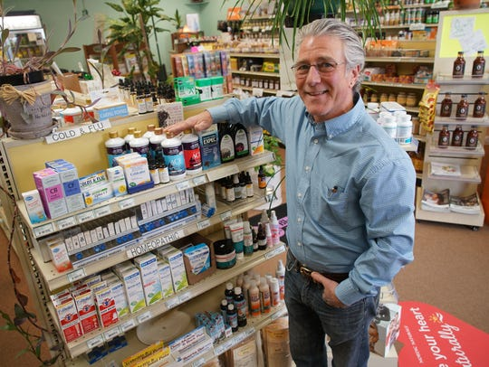Stuart Swinger, owner of  Nature's Way Health Market